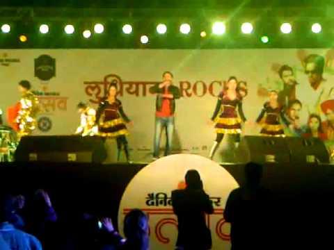 Amrinder Gill During Bhaskar Utsav Ludhiana
