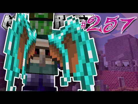 Minecraft | I GREW WINGS!! | Diamond Dimensions Modded Survival #257