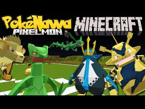 Minecraft Pixelmon: Newcomers Tournament! - Pokenawa Server
