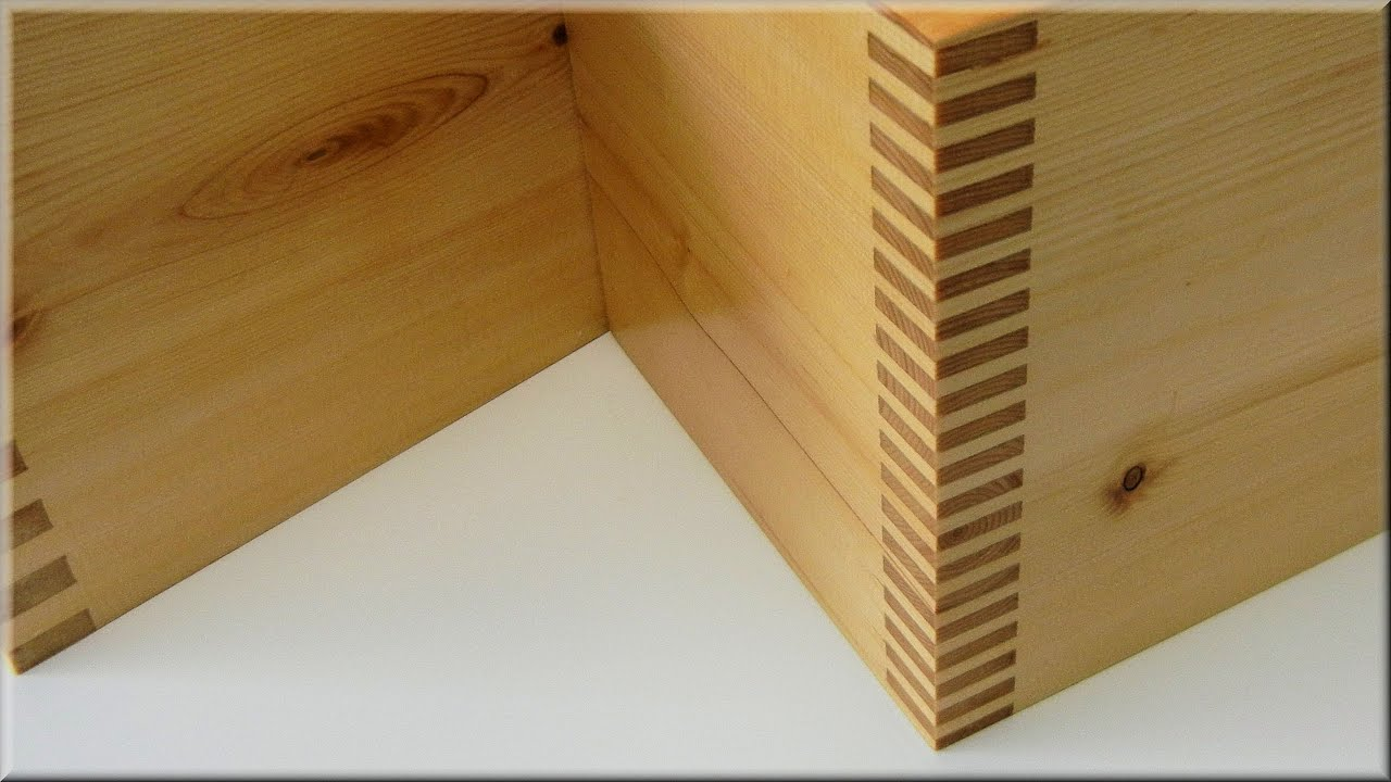 Setup And Use The Box Joint Jig - YouTube