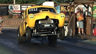 Old School GASSER and ALTERED Drag Racing