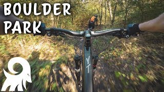 Boulder Park Has Some Fun Features! | Dallas, TX Mountain Biking