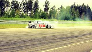 Nissan 200sx s14 burnout