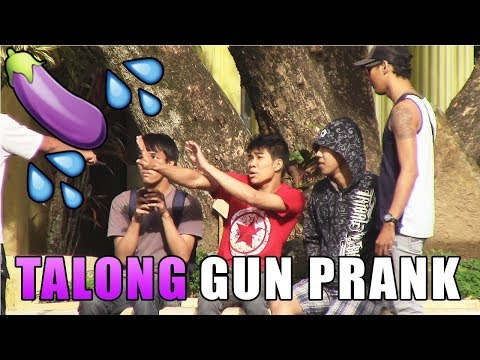 Talong Gun Prank - Pinoy Public Pranks