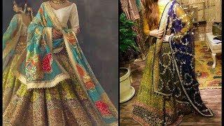 Latest & Beautiful Dresses Design For Mayon/Mehendi/Top Stylish Dress Design For Girls 2018