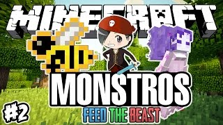 A NOVA CASA! - MONSTROS: Minecraft #2