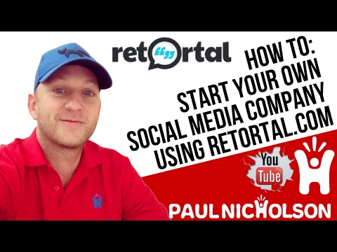 Retortal.com Start Your Own Social Media Online Marketing Company? Start An Online Internet Business