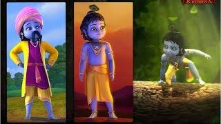Little Krishna Episode 01 Clip Krishna'S Dance On Kaalia