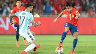 Chile 1 - 2 Argentina | Eliminatorias Rusia 2018 | Resumen