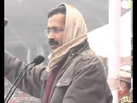 Arvind Kejriwal Addressing at Chhatrasal Stadium Part 2