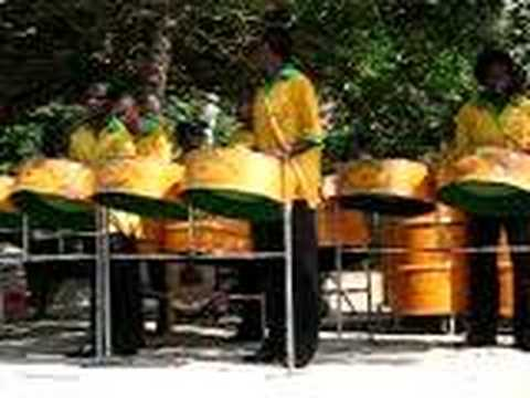 Steel Drum Band playing Bob Marley Video