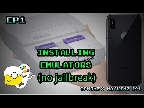 Mini SNES on iPhone no  Jailbreak Step by Step