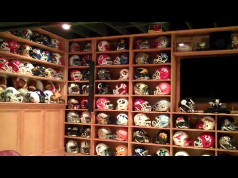 This is my football helmet collection. All helmets are full size; no minis and no replicas. How abou