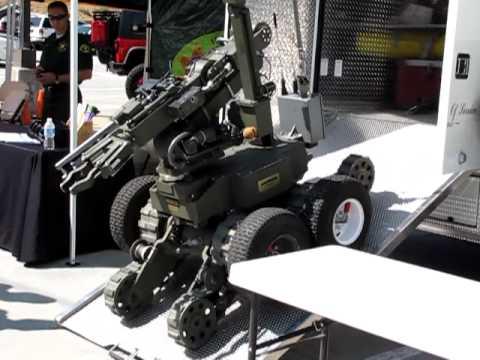 LASD Bomb Squad Remotec EOD Robot