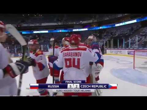Кубок Карьяла. Россия - Чехия (5:2). Обзор матча