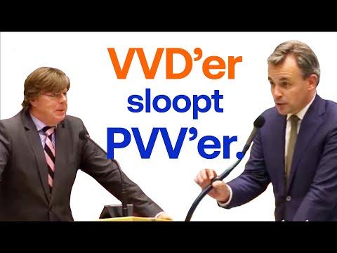 VVD-Kamerlid Mark Harbers heeft een strikvraag voor de PVV...