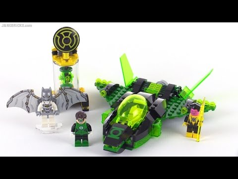 LEGO Super Heroes Green Lantern vs Sinestro review! set 76025
