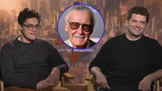 Into the Spider-Verse: Phil Lord and Chris Miller on Paying Tribute to Stan Lee (Exclusive)
