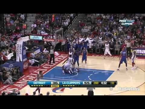 DeAndre Jordan dunks on Brandon Knight for 5 Minutes Straight