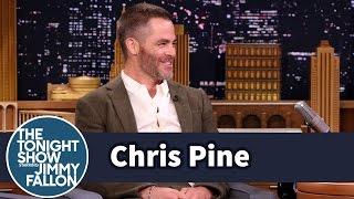 Chris Pine Harmonizes with His Star Trek Phaser