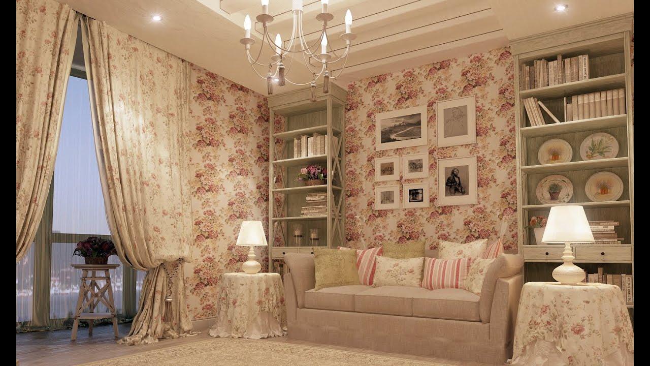 Интерьер квартиры в стиле шебби шик фото