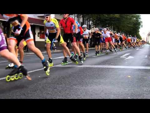 INVASION DER SKATER - Berlin Marathon 2016