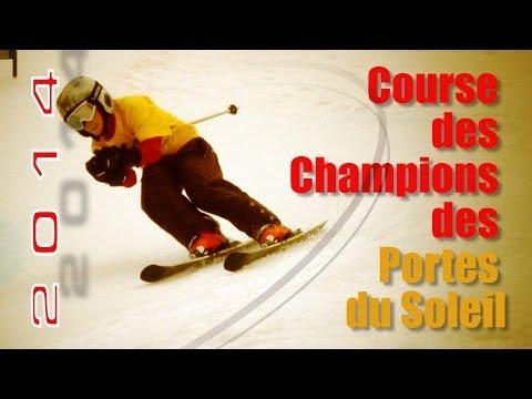 Course des Champions des Portes du Soleil: reportage...