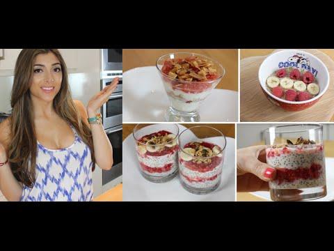 3 Quick & Super Healthy Breakfast Recipes! #AmeliasTastyTreats