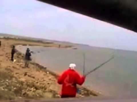 видео как ловят кефаль
