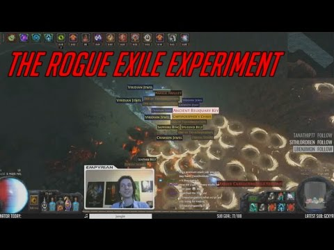 [PoE] Stream Highlights #25 - The Rogue Exile Experiment