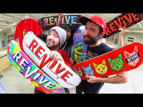 Best New Skateboards We've Ever Made! / ReVive Skateboards Winter 2019