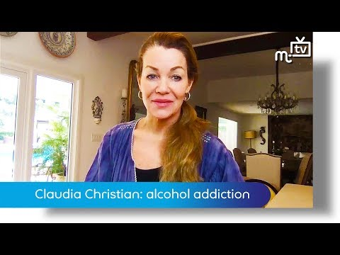 Claudia Christian: alcohol addiction