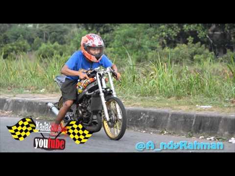 Ramenya setingan Kawasaki ninja drag bike Yogyakarta Racing indonesia