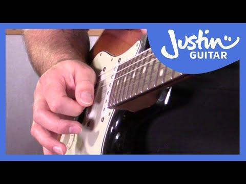 5 Blues Licks In Pattern 5 Minor Pentatonic Blues Scale: Blues Lead Guitar Lesson Tutorial S2p9