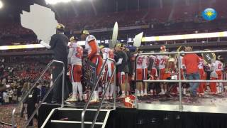 Clemson celebrates National Championship victory over Alabama