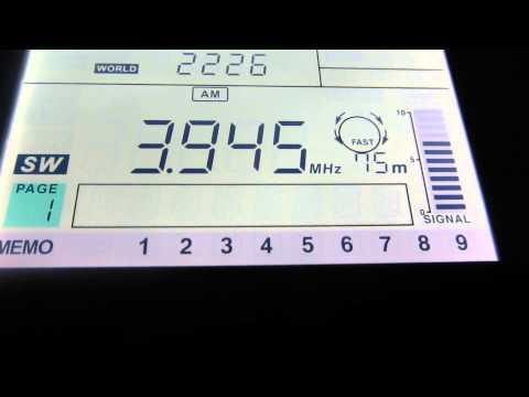 Radio Vanuatu reactivate in SW 3945 kHz