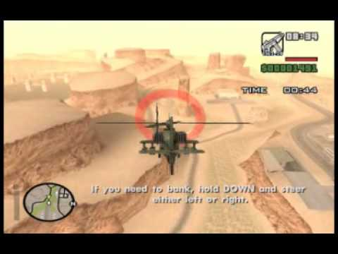 GTA:San Andreas: 72 Learning to Fly (PC)