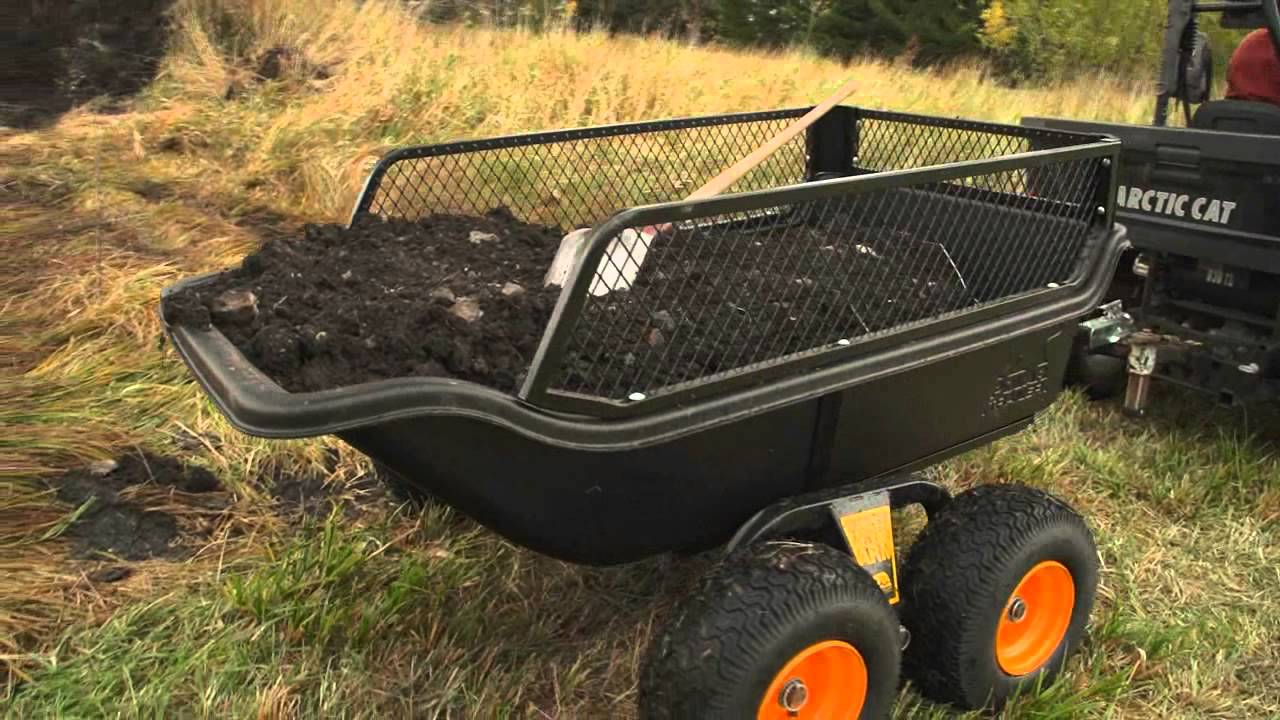 Atv For Sale >> Polar HD1200 & HD1500 Utility Trailer Product Review - YouTube