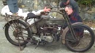 www.caimag.com Team Trying To Start A 1915 Harley For First Time