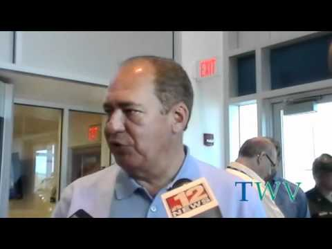 WV Governor Earl Ray Tomblin Visits MonPower