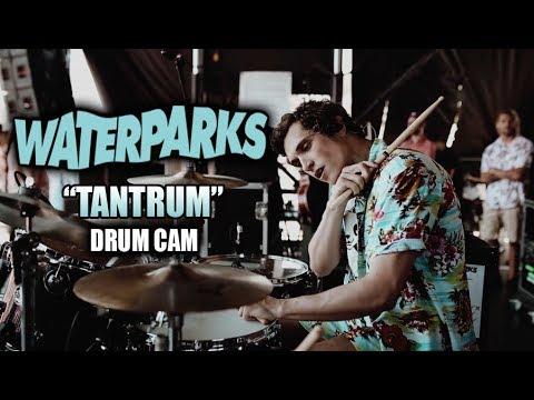 Waterparks | Tantrum | Drum Cam (LIVE) thumbnail