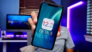 iOS 12.2 Beta 3 Review! Battery Life Issues & More!