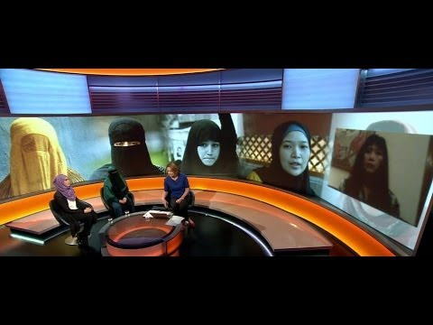 Survey: How Do Muslims Think Women Should Dress? Bbc News video