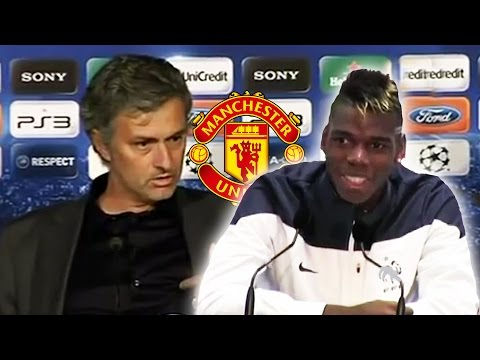 Pogba Argues With Mourinho About Joining Manchester United!*
