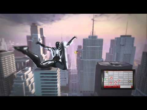 The Amazing Spider-Man - Web Swinging Gameplay + Different Suits