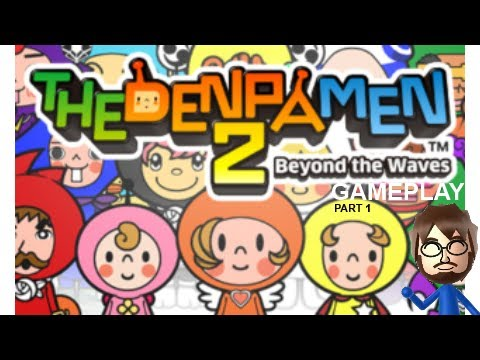 The Denpa Men 2 (3DS) Gameplay - Part 1