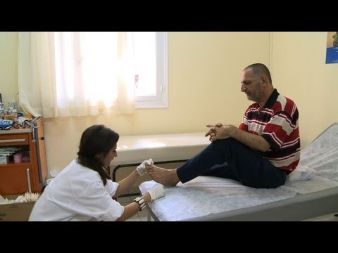 Greece's public health system battered by recession