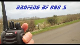 Baofeng 888S UHF Radio Field Test and Power Test