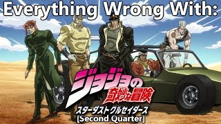 Everything Wrong With: JoJo's Bizarre Adventure: Stardust Crusaders | (Second Quarter)
