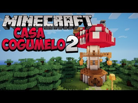 Minecraft: Como construir uma Casa Cogumelo 2